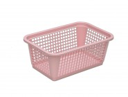 Small plastic basket perforated 255x170x100mm
