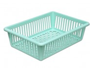 Large plastic basket Handy perforated 400x285x110mm